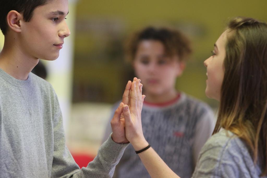Ateliers auprès des adolescents